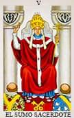 tarot del amor El Sumo Sacerdote